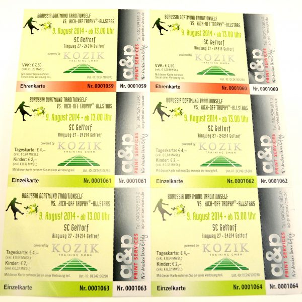 Eintrittskarten Hsv